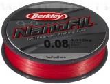 BERKLEY NANOFIL 270M 0.28MM LO-VIS RED