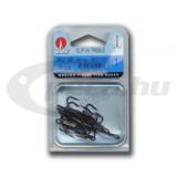 Clip In háromágú horog , 9607 BZ 2 (10db/csomag)VMC horog