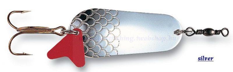 DAM Effzett támolygó villantó FZ Standard, silver/ezüst, 6gr VILLANTÓK