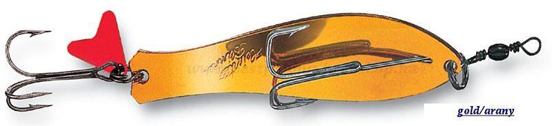 DAM Heintz támolygó villantó 28gr, 9 cm, gold/arany VILLANTÓK
