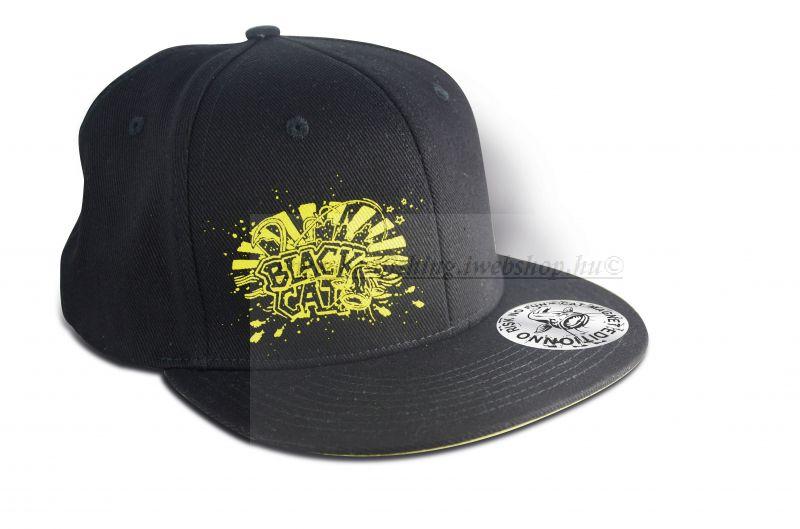 BLACK CAT CAP-SAPKA