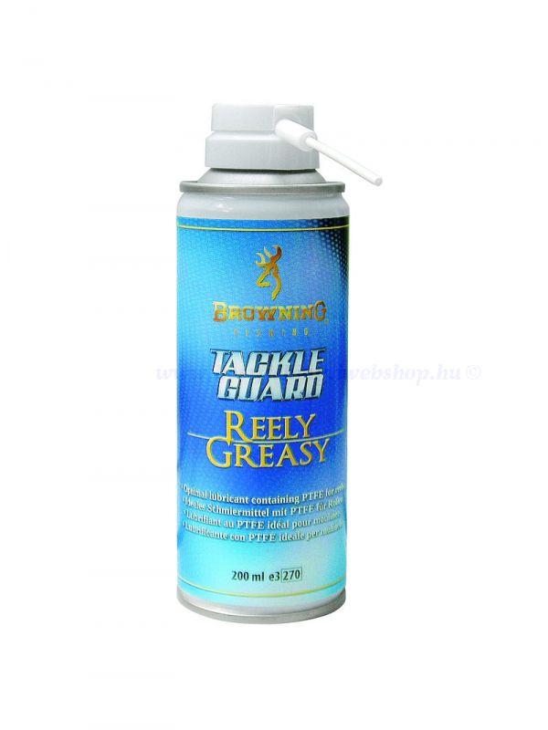 Browning Tackle Guard Reely Greasy, zsírzó spray 200ml BOT KARBANTARTÁS