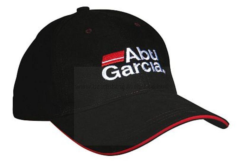 ABU GARCIA ABU GARCIA BLACK BASEBALL CAP SAPKA