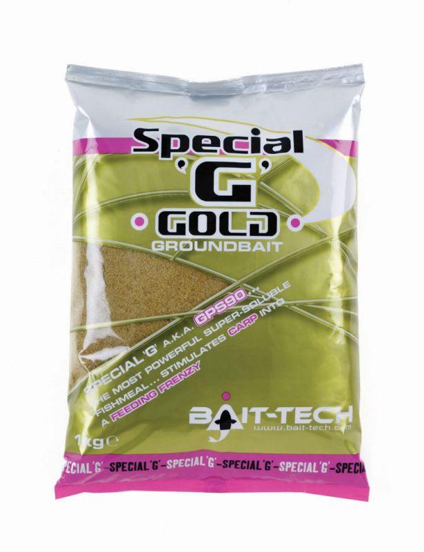 BAIT-TECH Special G Gold Groundbait 1kg (4033) ETETŐANYAG