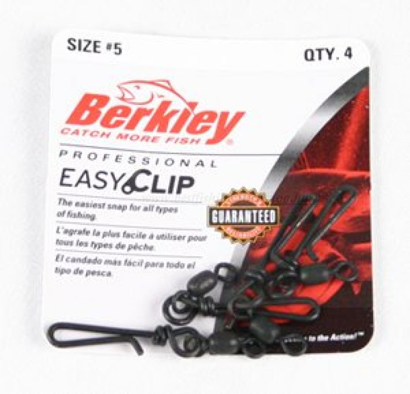 Berkley Mc Mahon Easy Clip Snap/Swivels size 12