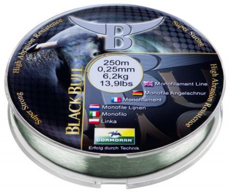 Horgász Zsinór CORMORAN BLACK BULL Special.0,30mm 250m BOJLIS APRÓCIKKEK