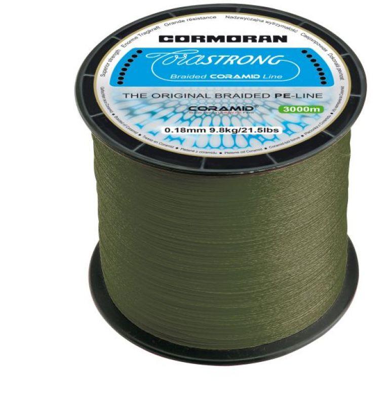 CORMORAN CORASTRONG GRÜN 0.25MM 3000M-FONOTT ZSINÓR