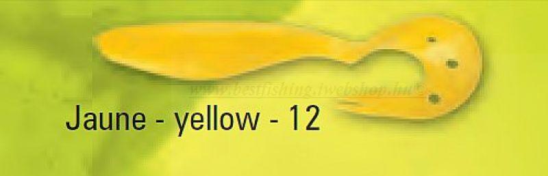 DELALANDE SANDRA 12 CM, 2 DB, SZÍN: 12, YELLOW MŰCSALI