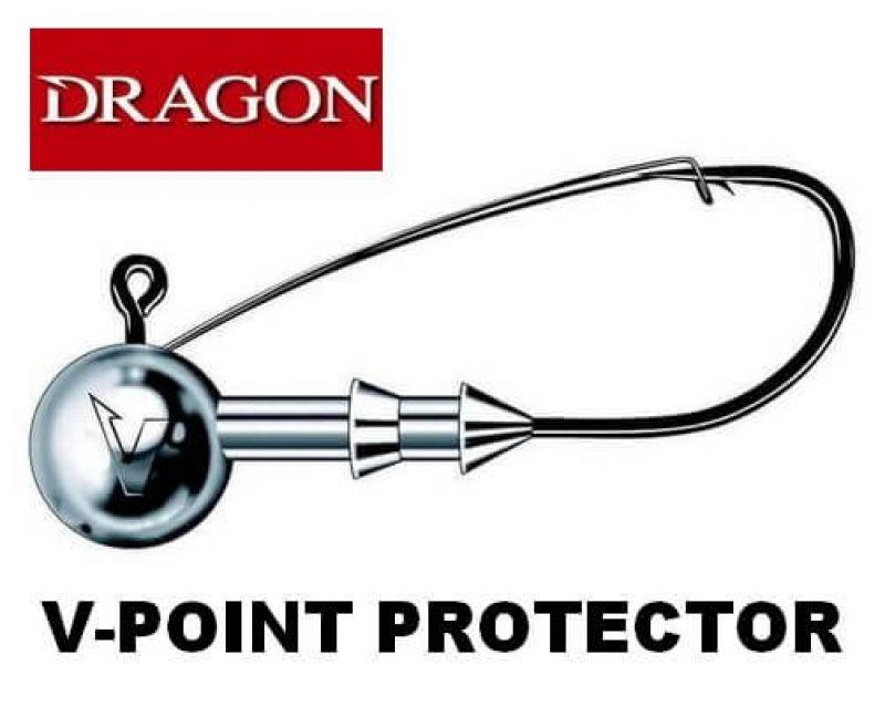 JIGHEAD  DRAGON V-POINT PROTECTOR MÉRET: 3/0-15G JIG FEJ