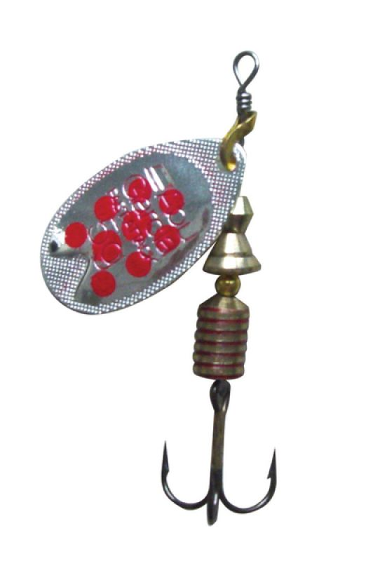 Abu Garcia Fast Attack 7g Silver/red dots