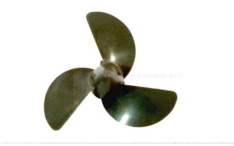 Honda BF 2,3 D6 csónakmotorhoz műanyag propeller 7 1/4 X 4 3/4 CSÓNAKMOTOR ALKATRÉSZ-FELSZERELÉS