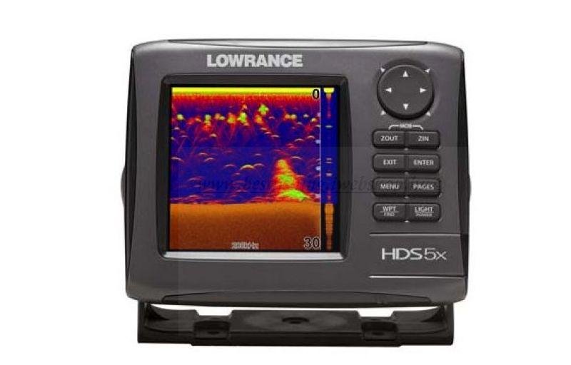 HALRADAR  LOWRANCE HDS 5X GEN1 83/200 KHZ-ES JELADóVAL