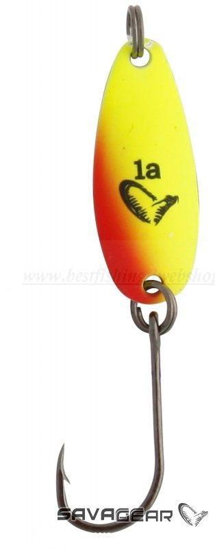 SavageGear NAIL MICRO 2,4cm 3DB Yellow & Red VILLANTÓK