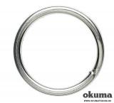 VARTEJ, INEL, AGRAFA - Okuma Splitring Forged 6mm Steel - 10 buc