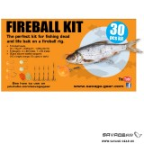 SET NALUCI - SAVAGE GEAR Fireball Pro Pack Kit 30 buc