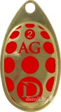 DRAGON AGLIA CLASSIC arany - piros / arany nr 2 körforgó villantó