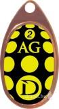 DRAGON AGLIA CLASSIC sárga - fekete / bronz nr 1 körforgó villantó