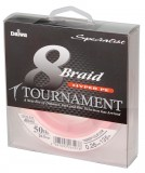 DAIWA TOURNAMENT 8-BRAID PINK 0,14MM 135M FONOTT ZSINÓROK