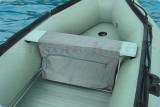 Gumicsónak ülőpad táska 85cm-es