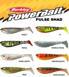 BERKLEY POWERBAIT PULSE SHAD BULK 11CM SMELT-GUMIHAL