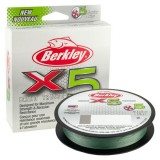 BERKLEY X5 BRAID LO-VIS GREEN 0,08MM 150M
