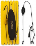 BLACK CAT U-FLOAT RIG SINGLE HOOK L 100KG 1PCS 1,20M 8/0-INAINTAS SOMN