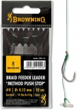 BROWNING BRAID FEEDER LEADER FEEDER HOROG 4 0,14MM-FEEDER HOROG