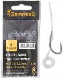 BROWNING LEADER METHOD PELLET FEEDER HOROG 14 0,22MM-FEEDER HOROG