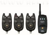 Carp Academy Flash Elektromos Kapásjelző szett 3+1 (6314-003)