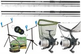 CARP HUNTER LONG CAST RUNNER SET FEEDER