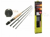 D.A.M FORRESTER FLY - ALLROUND FLY FISHING KIT - 8PCS 2,7m