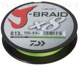 DAIWA J-BRAID FONOTT ZSINÓR CHARTREUSE 8 BRAID 150M 0,22MM FONOTT ZSINÓROK