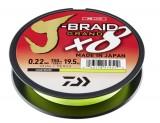 DAIWA J-BRAID GRAND X8E 0,28MM-135M CHARTREUSE