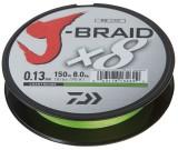 DAIWA J-BRAID X8 0,06MM-150M CHARTREUSE
