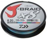 DAIWA J-BRAID X8 0,16MM-150M MULTI COLOR