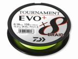 DAIWA TOURNAMENT X8 BRAID EVO+ 0,08MM 135M CHARTREUSE