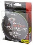 DAIWA TOURNAMENT 8 BRAID EVO FONOTT ZSINÓR chartreuse 135M 0,18MM