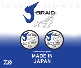 FIR IMPLETIT DAIWA J-BRAID X4  VERDE 0, 07mm 135m