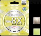 ZSINÓR DRAGON ULTRA 8X NANO SZÍN: ZÖLD NEON 135m-0,16mm
