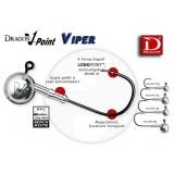 JIGHEAD  DRAGON V-POINT VIPER MÉRET: 5/0-35G