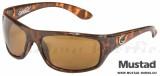 Hank Parker Polarized Sunglasses - Tortoise Frame, Amber Lens