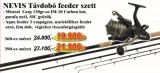 Nevis Távdobó feeder szett 1600-390+ 2292-360 (KB-450)-feeder szett
