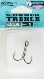 Owner Treble hármashorog X ST36 méret:2/0