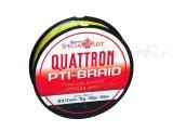 Quantum Quattron PTI-Braid 0. 14mm, 1800m, galben