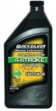 Quicksilver Synthetic Blend FourStroke Outboard Engine Oil, négyütemű motorolaj, 1 liter, 25W-40