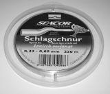 CORMORAN SEACOR PRO TEAM Schlagschnur 220m 0,37-0,60mm MONOFIL ZSINÓROK