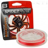 SPIDERWIRE STEALTH MOOTH 8 RED 0,17MM 300M
