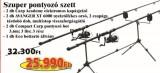 Szuper Pontyozó szett 2db 1473-360 + 2db 2290-260+ 6318-002+ 6102-001 (KB-446)-feeder szett