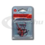 Round háromágú horog , 8650 RD 1/0 (5db/csomag)VMC horog