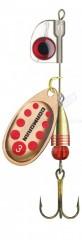 Cormoran körforgó Bullet AT copper/red dots 4,5g méret: 2